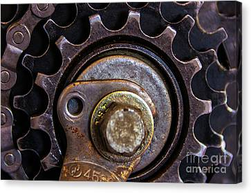 Bicycle Cog Chain Gear Canvas Print