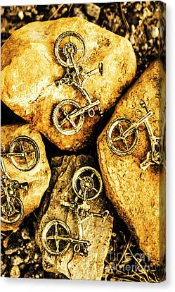 Terrain Canvas Print - Bicycle Obstacle Course by Jorgo Photography - Wall Art Gallery