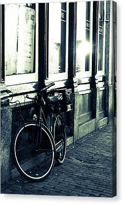 Bicycle  Canvas Print by Victory  Designs
