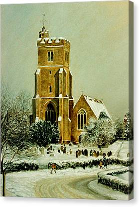 Biddenden Church Canvas Print