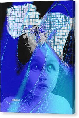 Canvas Print - Biddidi-bobbidi-blue by Seth Weaver