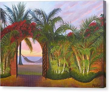 Bien Venidos Canvas Print