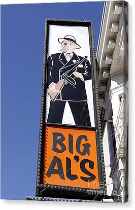 Canvas Print featuring the photograph Big Al by Denise Pohl