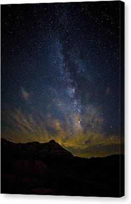 Big And Bright Texas Night Canvas Print by Stephen Stookey