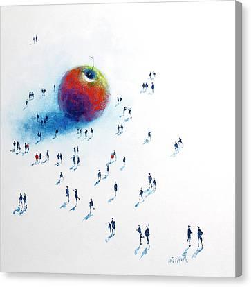 Big Apple 2 Canvas Print