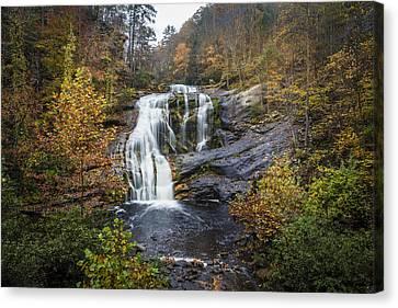 Big Bald River Falls Canvas Print