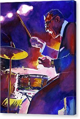 Big Band Ray Canvas Print