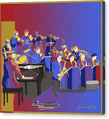 Big Band Canvas Print