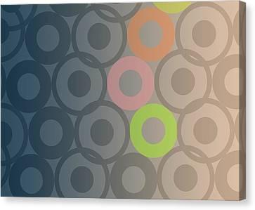 Light And Dark Canvas Print - Big Bang by Francois Domain