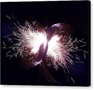 Big Bang Canvas Print by Jerry Browning