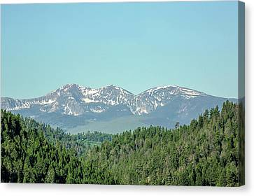 Big Belt Mountains Canvas Print by Todd Klassy