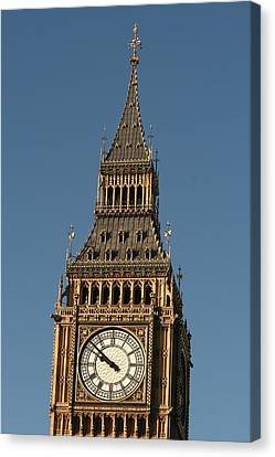 Canvas Print featuring the photograph Big Ben by Andrei Fried