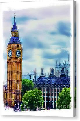 Big Ben Canvas Print by Judi Bagwell