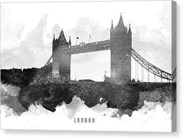 Big Ben London 11 Canvas Print by Aged Pixel