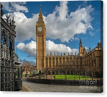 Big Ben London Canvas Print by Adrian Evans
