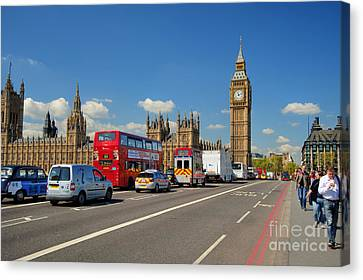 Big Ben London Canvas Print by Donald Davis