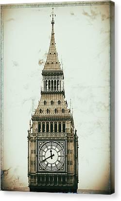 Big Ben Canvas Print by Martin Newman