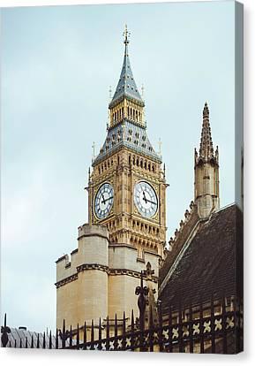Big Ben Rises In London Canvas Print