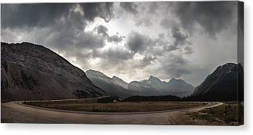 Icefields Parkway Canvas Print by Cale Best