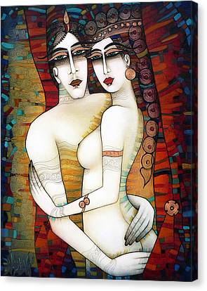 Big Big Love Canvas Print