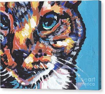 Big Blue Eyes Canvas Print by Lea S