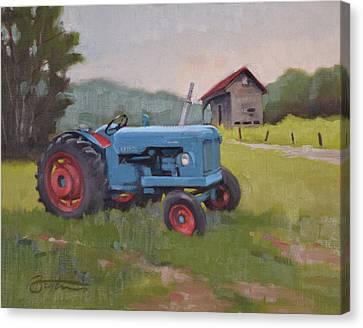 Big Blue Canvas Print by Todd Baxter