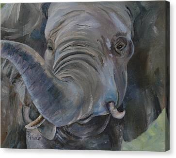 Big Boy Canvas Print by Brenda Thour