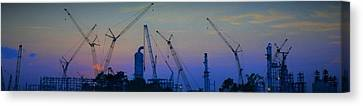 Big Boy Erector Set Canvas Print