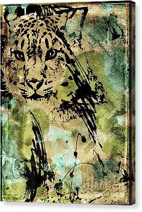 Big Cat Canvas Print by Mindy Sommers