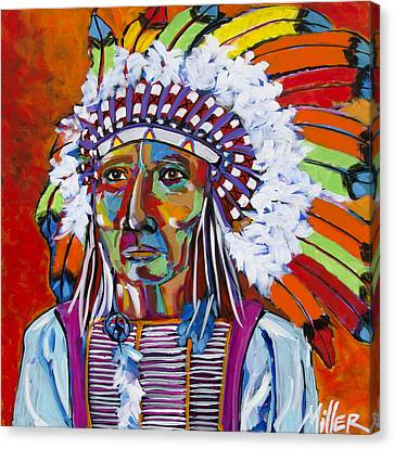 Big Chief Canvas Print by Tracy Miller