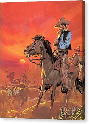 Big Country Canvas Print by Angus McBride