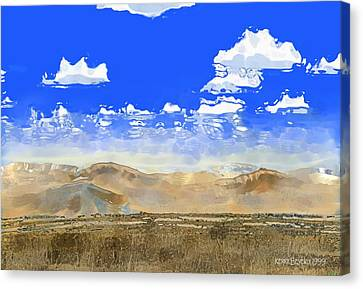 Big Country Canvas Print by Kerry Beverly
