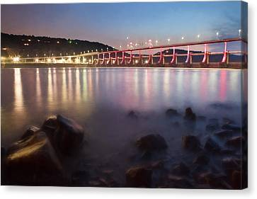 Big Dam Bridge Canvas Print