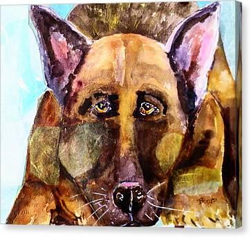 Big Dog Canvas Print by M L Borges