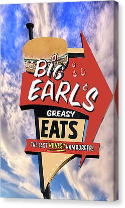 Canvas Print featuring the photograph Big Earls by Paul Wear