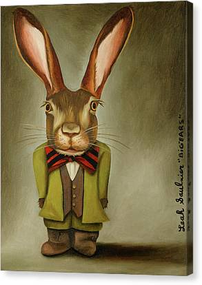 Canvas Print - Big Ears by Leah Saulnier The Painting Maniac