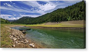Elk Canvas Print - Big Elk Creek by Chad Dutson