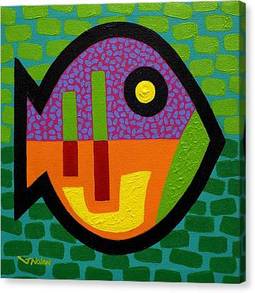 Big Fish   V  Canvas Print by John  Nolan