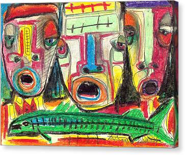Big Fish Canvas Print by Robert Wolverton Jr