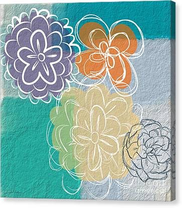 Big Flowers Canvas Print