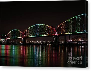 Big Four Bridge 2215 Canvas Print