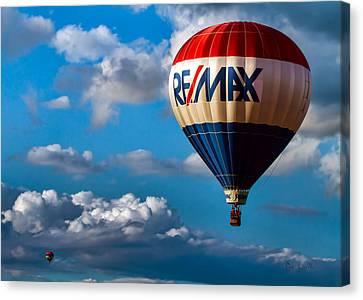 Big Max Re Max Canvas Print by Bob Orsillo