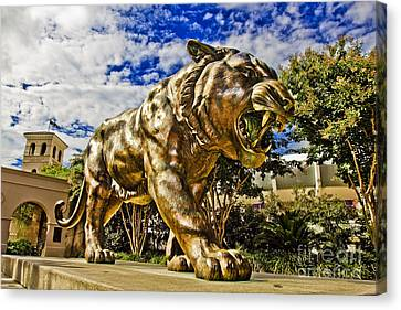 Mike The Tiger Canvas Print - Big Mike by Scott Pellegrin
