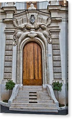 Canvas Print featuring the photograph Big Mouth Door by Kim Wilson