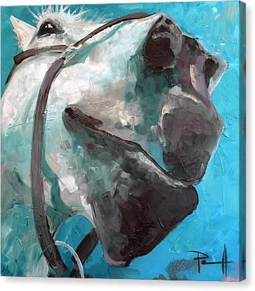 Sean Horse Canvas Print - Big Nose Kate by Sean Parnell