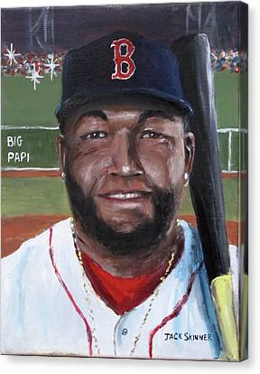 Big Papi Canvas Print