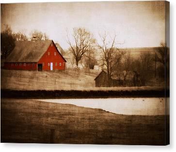 Big Red Canvas Print by Julie Hamilton