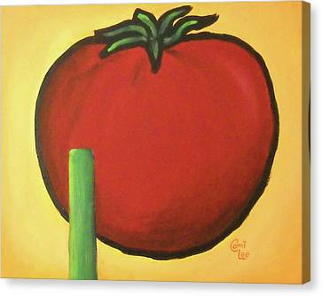 Big Red Tomato Canvas Print