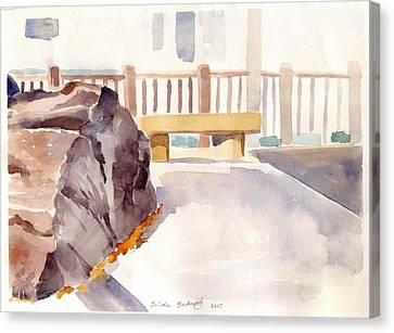 Big Rock 1 Canvas Print by Linda Berkowitz