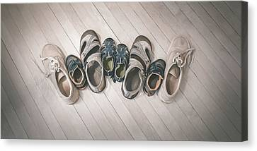 Big Shoes To Fill Canvas Print by Scott Norris